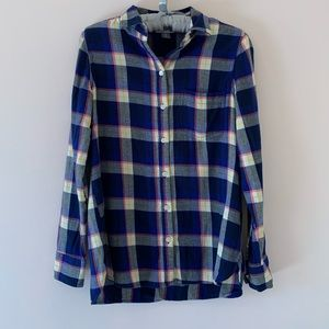 Old Navy-Plaid Button Down